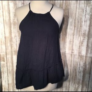 50% sale Anthropologie Cloth & Stone halter top